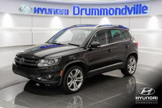 Used 2012 Volkswagen Tiguan HIGHLINE + GARANTIE + 4 MOTION + CUIR + for sale in Drummondville, QC