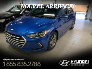 Used 2017 Hyundai Elantra GL + GARANTIE + MAGS + CAMERA + VOLANT for sale in Drummondville, QC