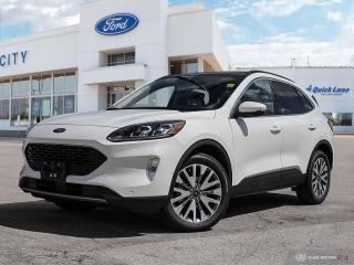 New 2020 Ford Escape Titanium Hybrid for sale in Winnipeg, MB