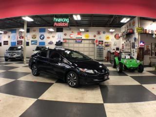 Used 2015 Honda Civic Sedan EX AUT0 A/C SUNROOF BACKUP CAMERA BLUETOOTH 103K for sale in North York, ON