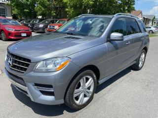 Used 2013 Mercedes-Benz ML-Class 4MATIC 4dr ML 350 BlueTEC for sale in Ottawa, ON
