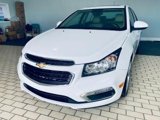 Used 2016 Chevrolet Cruze LT/SUNROOF/LEATHER/BACK CAMERA/ALLOY/NO ACCIDENT for sale in Brampton, ON