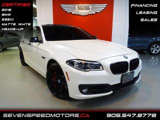 Used 2016 BMW 5 Series 535XI | MATT WHITE | CERTIFIED | FINANCE @ 4.65% for sale in Oakville, ON
