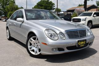 Used 2003 Mercedes-Benz E-Class 5.0L for sale in Oakville, ON