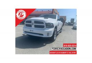 Used 2017 RAM 1500 Sport V8 -  5.7L -  4X4 for sale in Val-D'or, QC