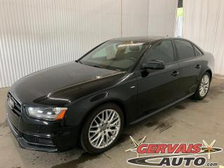 Used 2015 Audi A4 Komfort plus Quattro Cuir Toit ouvrant MAGS for sale in Trois-Rivières, QC
