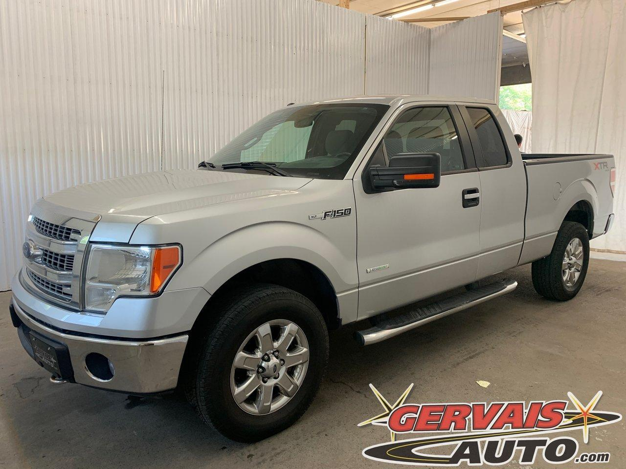 used 2014 ford f-150 xlt xtr 4x4 v6 ecoboost caméra marche pieds for sale in trois-rivières, quebec carpages.ca