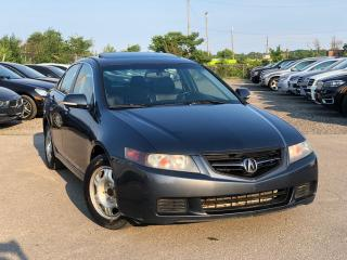 Used 2005 Acura TSX leather sunroof for sale in Oakville, ON