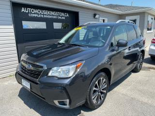 Used 2018 Subaru Forester XT Touring for sale in Kingston, ON