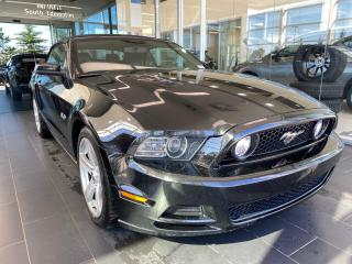Used 2014 Ford Mustang GT, Convertible, ACCIDENT FREE, NAVI, HEATED LEATHER SEATS for sale in Edmonton, AB