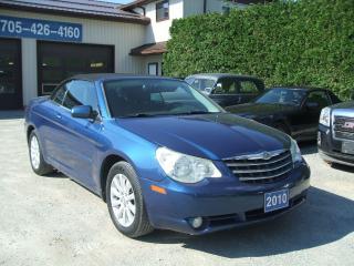 Used 2010 Chrysler Sebring TOURING, CONVERTIBLE for sale in Beaverton, ON