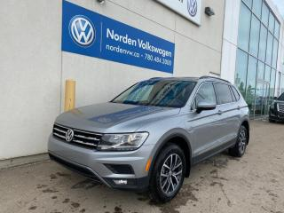 New 2020 Volkswagen Tiguan Comfortline 4dr AWD 4MOTION for sale in Edmonton, AB