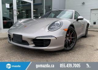 Used 2013 Porsche 911 CARERRA 4S - FREE FACTORY WARRANTY FULL LOAD for sale in Edmonton, AB