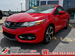 Used 2014 Honda Civic 2 portes, boîte manuelle, Si for sale in Sorel-Tracy, QC