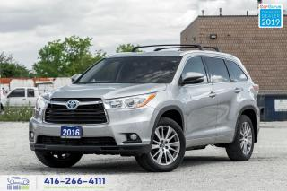 Used 2016 Toyota Highlander Hybrid XLE|Navi|Back up cam|HTD Seats for sale in Bolton, ON