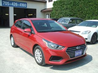 Used 2019 Hyundai Accent Preferred , Hatchback for sale in Beaverton, ON