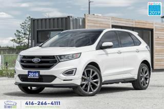 Used 2016 Ford Edge Sport|Awd|Pano Roof|Navi|Service History for sale in Bolton, ON
