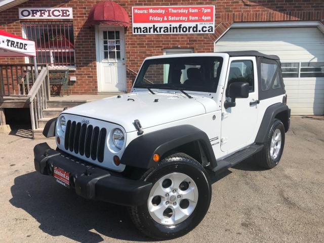 2013 Jeep Wrangler Sport 3.6 V6 6 spd Manaul Alloys