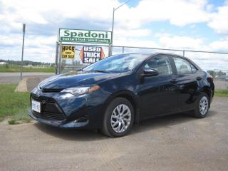 Used 2018 Toyota Corolla LE for sale in Thunder Bay, ON