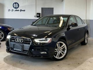 Used 2013 Audi A4 PREMIUM PLUS|NAV|BACK UP|PUSH START|ACCIDENT FREE for sale in Oakville, ON