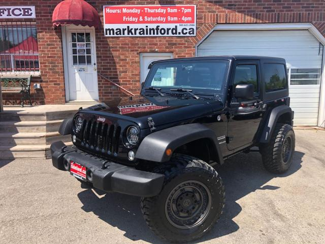 2016 Jeep Wrangler Sport 6 spd Manual V6 Pwr Windows Locks A/C