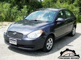 Used 2009 Hyundai Accent GL || CERTIFIED || for sale in Waterloo, ON