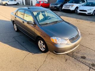 Used 2006 Toyota Corolla SE | LOW KMS | SERVICE HISTORY for sale in Burlington, ON