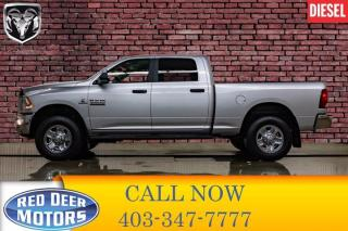 Used 2018 RAM 3500 4x4 Crew Cab SLT Diesel BCam for sale in Red Deer, AB