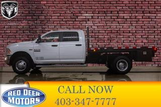 Used 2014 RAM 3500 4x4 Crew Cab SLT Deck Dually HEMI for sale in Red Deer, AB