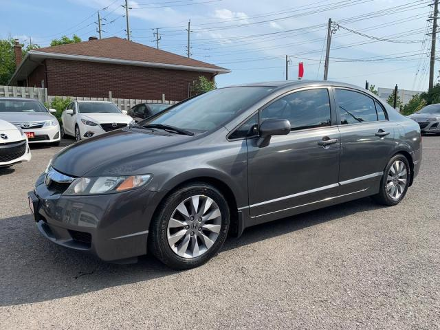 2009 Honda Civic EX-L, AUTOMATIC, LEATHER SEATS, SUNROOF, 144KM
