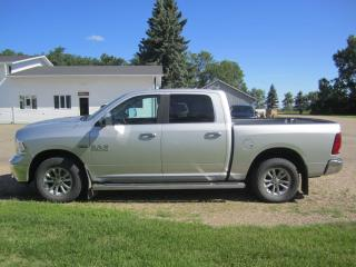 Used 2017 RAM 1500 Big Horn for sale in Melfort, SK