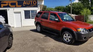 Used 2007 Ford Escape XLT for sale in Edmonton, AB