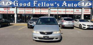 Used 2003 Honda Odyssey EX MODEL, 3.5L 6CYL, LEATHER SEATS, ALLOY RIMS for sale in Toronto, ON