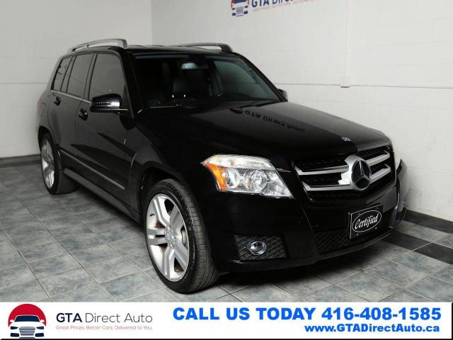 2011 Mercedes-Benz GLK-Class GLK 350 4Matic AWD V6 Leather Xenon Heat Certified