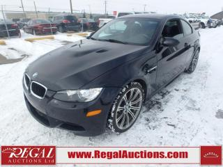 Used 2011 BMW 3 Series M3 2D Coupe RWD 4.0L for sale in Calgary, AB
