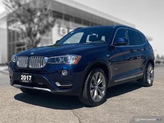 Used 2017 BMW X3 xDrive28i Enhanced! for sale in Winnipeg, MB
