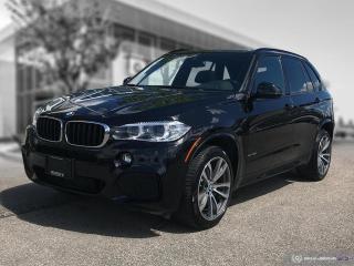 Used 2017 BMW X5 xDrive35i M-Sport Enhanced Local for sale in Winnipeg, MB