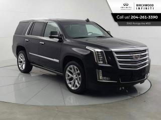 Used 2018 Cadillac Escalade Platinum Remote Start, Rear DVD, Cooled Seats! for sale in Winnipeg, MB