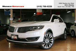 Used 2017 Lincoln MKX AWD RESERVE - ACC|BLINDSPOT|LANEKEEP|NAVI|BACKUP for sale in North York, ON