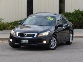 Used 2010 Honda Accord LEATHER,EX-L,NAVIGATION,FULLY LOADED,NO-ACCIDENTS, for sale in Mississauga, ON