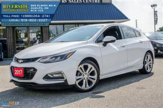 Used 2017 Chevrolet Cruze Premier for sale in Guelph, ON