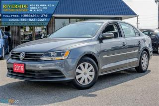 Used 2016 Volkswagen Jetta TRENDLINE+ for sale in Guelph, ON