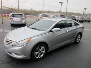 Used 2011 Hyundai Sonata NAVI,LIMITED,LEATHER,REAR-CAM,DEALER SERVICED,LOAD for sale in Mississauga, ON