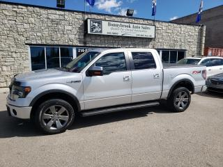 Used 2014 Ford F-150 4WD SuperCrew  FX4 LEATHER NAVIGATION SUNROOF for sale in Calgary, AB