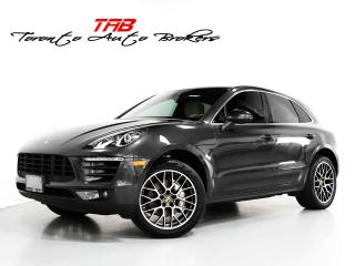 Used 2018 Porsche Macan S I PREMIUM PKG PLUS I PANO I LANE ASSIST for sale in Vaughan, ON