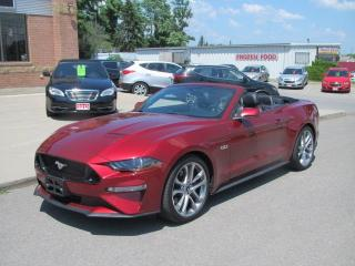 Used 2019 Ford Mustang GT Convertible for sale in Brockville, ON