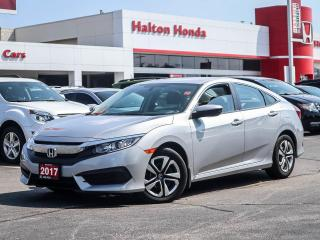 Used 2017 Honda Civic LX|NO ACCIDENTS for sale in Burlington, ON