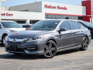 Used 2017 Honda Accord SPORT|NO ACCIDENTS|SERVICE HISTORY ON FILE for sale in Burlington, ON