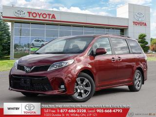New 2020 Toyota Sienna SE for sale in Whitby, ON