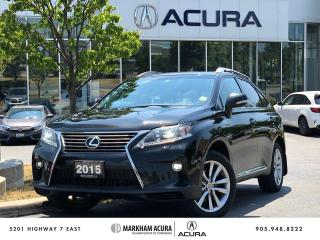 Used 2015 Lexus RX 350 Sportdesign for sale in Markham, ON